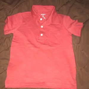 Toddler boy polo top